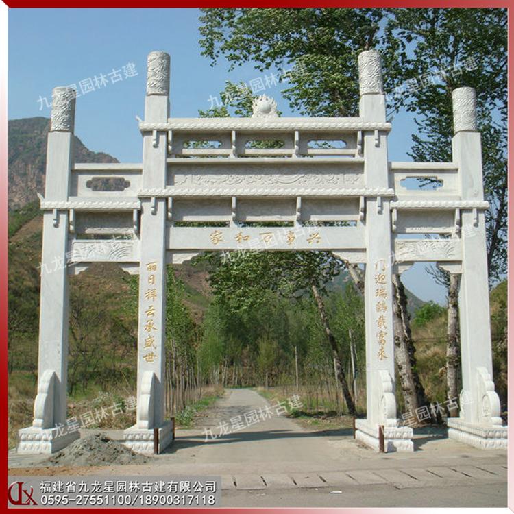 石雕牌坊,石雕牌樓,石雕牌坊和石雕牌樓有什么區別